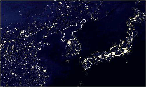 Kuzey Kore'de Gece