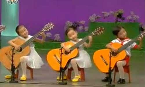 Şirin ve Ürpertici Çocuk Müzisyenler