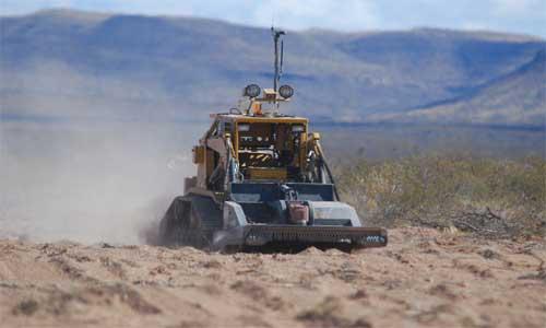 ARTS Buldozer Boyutlu Robot