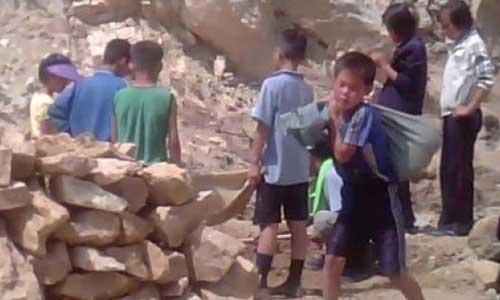 Kuzey Kore'deki Çocuk Köleler