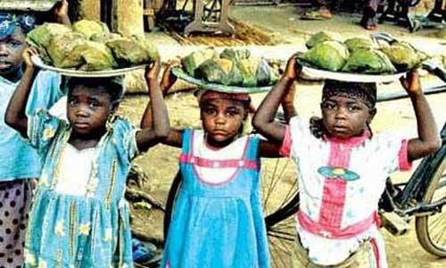 Nijerya'daki Çocuk Köleler