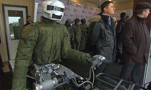 Rus Cyborg Motorcu
