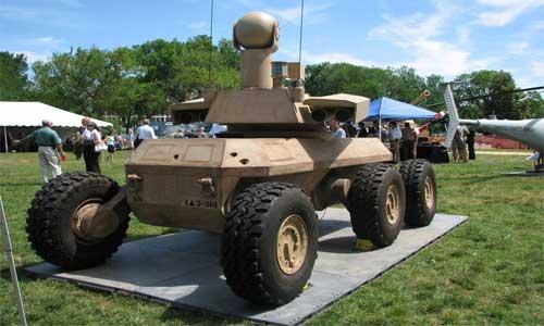 XM129 Silahlı Robotik Araç