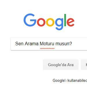 Google'dan Gelen İlginç Aramalar