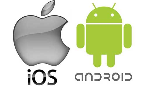Android ve İphone