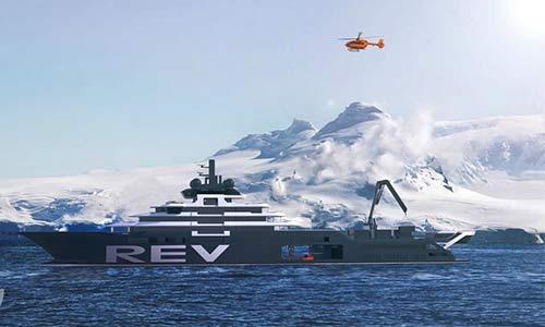 Dünyanın En Büyük ve Gelişmiş Keşif Gemisi REV