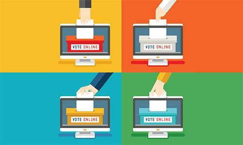 Gençler Çevrimiçi Oy Vermeyi Destekliyor