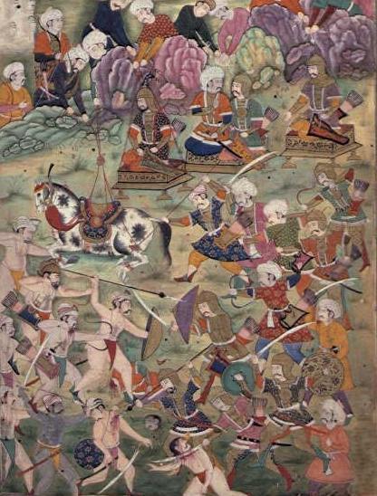 Timur - Yıldırım Bayezıt Ankara Savaşı