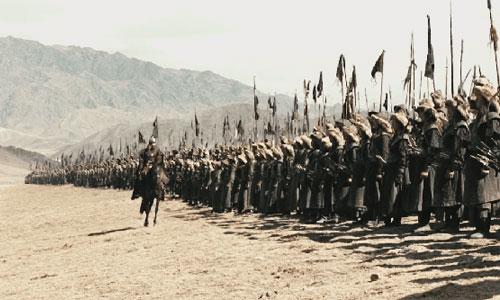 Savaş dehası Cengiz Han ordusu